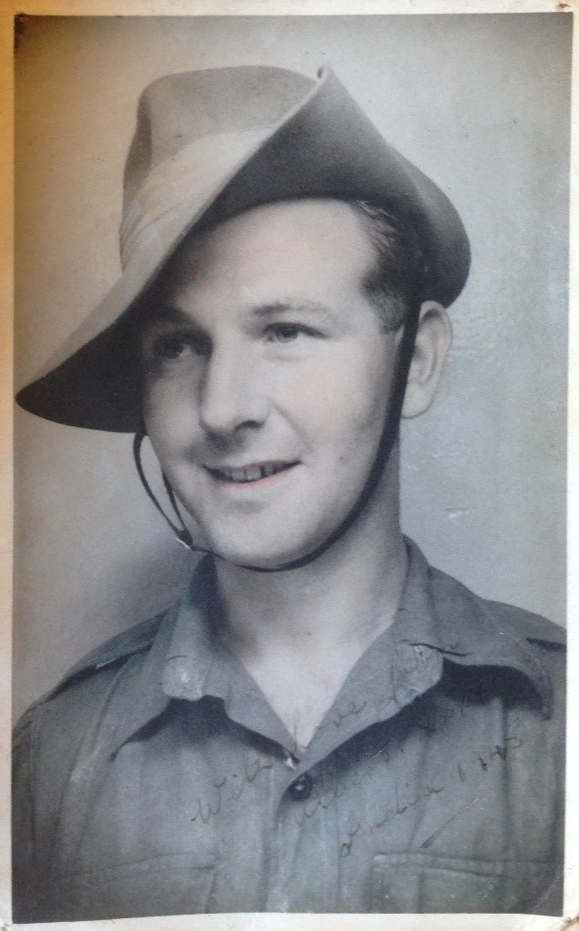 Albert in his army days