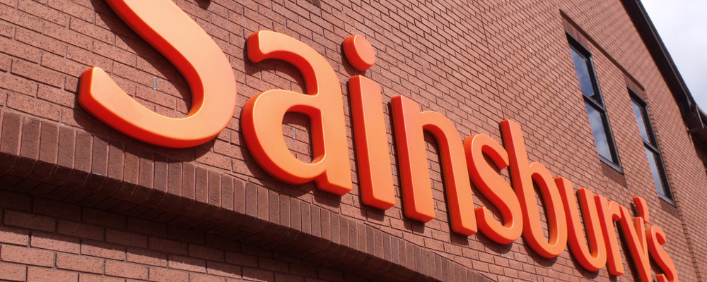 Sainsburys sign