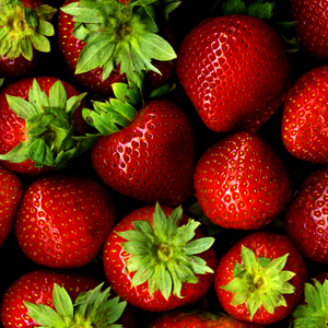Some delicious looking strawberries