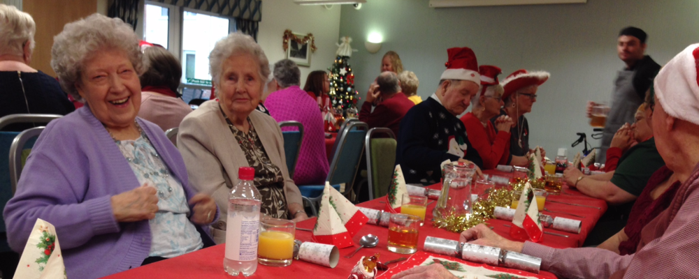 William Lench Court Christmas lunch